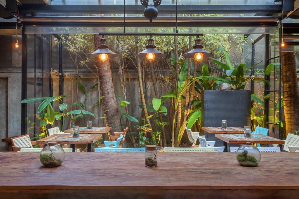 Espaço maravilhoso do Nambu Restaurante