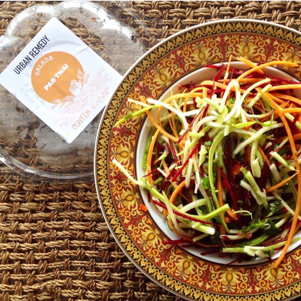 Uma das saladas Urban Remedy