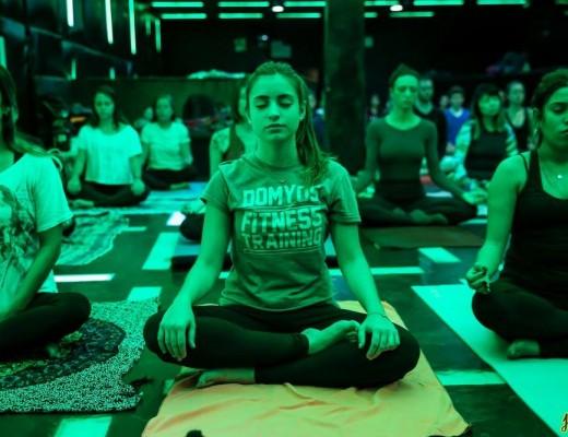 My Yoga na Pista do D-Edge Foto: Jotape